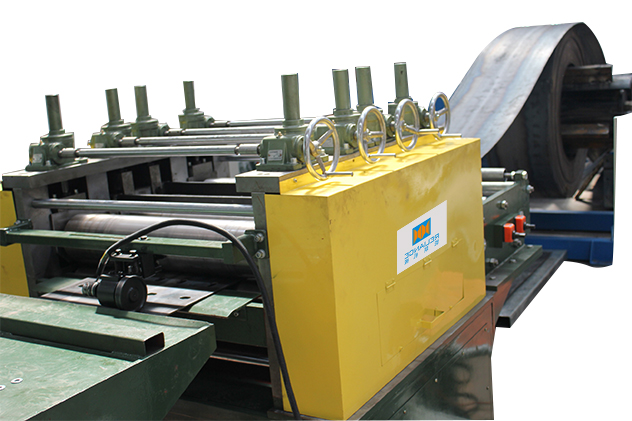 Tab 2-1 Uncoiler and leveling for guardrail roll forming machines