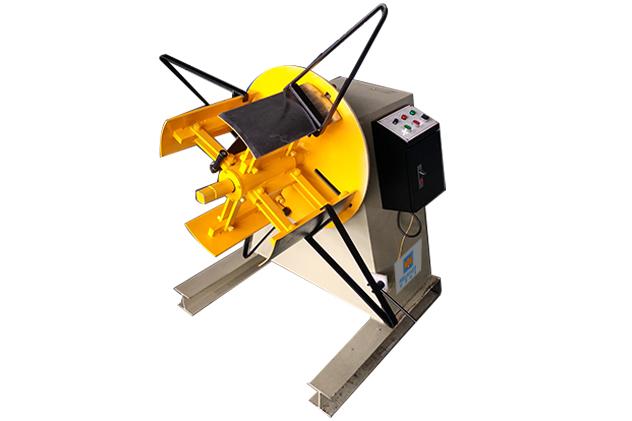 Tab 2-1 Uncoiler for steel framing machine