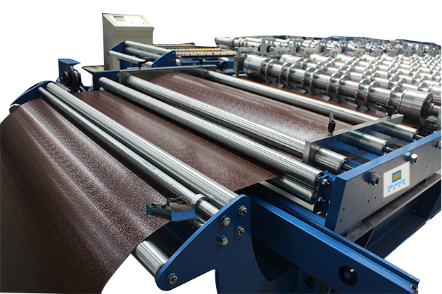 Tab 2-2 Entry guide of Glazed Tile Roll Forming Machines