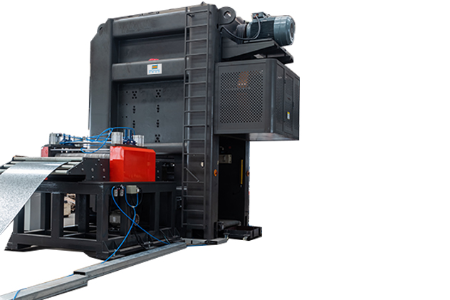 Tab 2-2 Feeding and mechanical press for cable tray roll forming machines