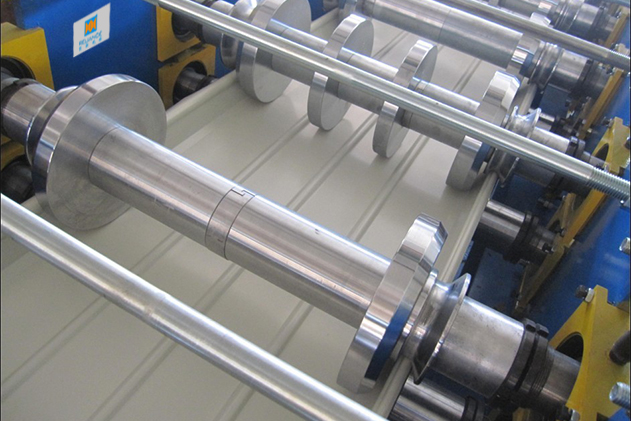 Tab 2-2-Roll forming process of Standing Seam Roof Machines