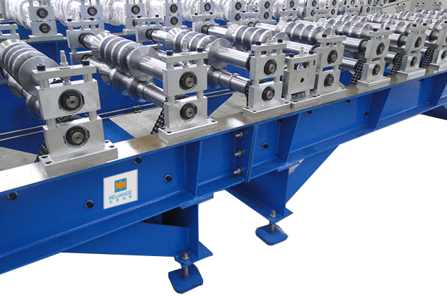 Tab 2-3 Roll forming section of Glazed Tile Roll Forming Machines