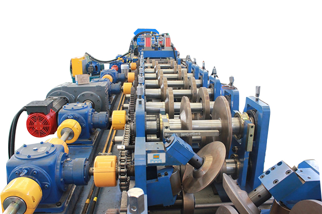 Tab 2-3 gearbox transmission for CZ purlin roll forming machine