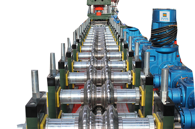 Tab 2-4 Roll forming section for guardrail roll forming machines
