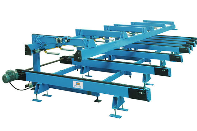 Tab 2-5 Auto stacker of Glazed Tile Roll Forming Machines