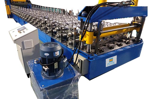 Tab 2-5 Hydraulic Cutting of Roof roll forming machine
