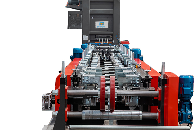 Tab 2-5 adjustable width rollformer for cable tray roll forming machines