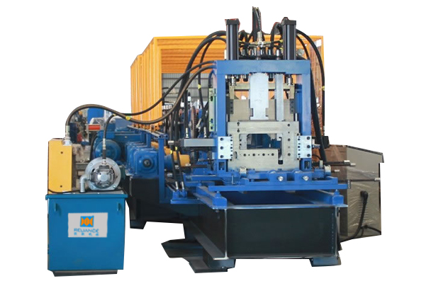 Tab 2-5 universal cutting for CZ purlin roll forming machine