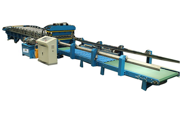 Tab 2-6 Auto stacker of Glazed Tile Roll Forming Machines
