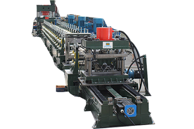 Tab 2-6 whole line for guardrail roll forming machines