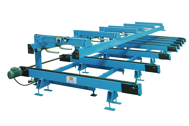 Tab 2-8 Auto stacker of Roof roll forming machine
